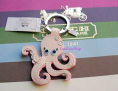 Coach Octopus Pink Patent Leather Key Chain Fob Ring Purse Charm Ocean Beach NEW   Clothing, Shoes & Accessories, Women's Accessories, Key Chains, Rings & Finders   eBay!
