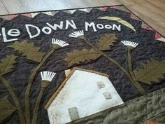 Thistle Down Moon by Maggie Bonanomi,  made by me