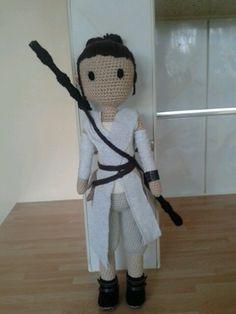 Rey Amigurumi Star Wars : amigurumi dolls on Pinterest Amigurumi, Amigurumi Doll ...