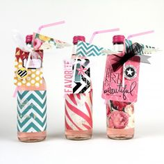#HeidiSwapp #SugarChic party bottles created by Jennifer Evans