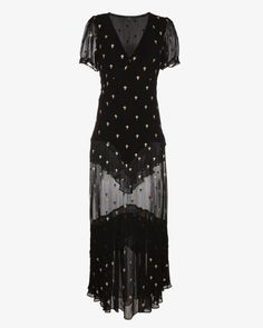 Julietter Cross embroidered dress - £595