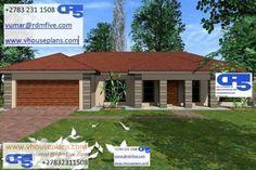 Two Bedroom House Design, 4 Bedroom House Plans, House Floor Plans, House Plans With Photos, Site Plans, Garage Plans, Pergola, Villa, Outdoor Structures