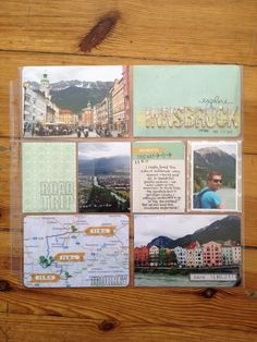 Explore Innsbruck By LaurinK #projectlife #scrapbooking Project Life