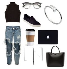 Untitled #106 by ezerys on Polyvore featuring polyvore, Influence, OneTeaspoon, Steve Madden, Givenchy, Cartier, Smythson, fashion, style and clothing