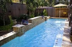 lap pool flagstone - Google Search