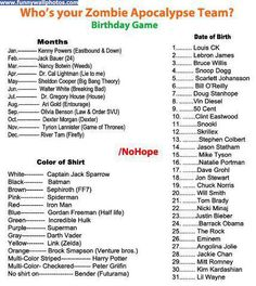 Dexter, Peter Griffin and Snoop Dogg?! Well, Im pretty much screwed unless you can kill zombies by getting them stoned and then farting at them.