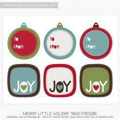 Merry Little Holiday CU {} y un regalo de promoción! | MissTiina.com {Blog}