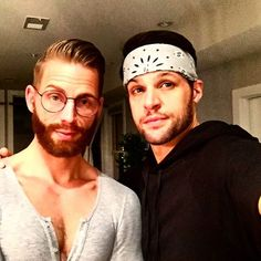 #dc #gay #bestfriend #saturdaynight #dance #party #glasses #onesies #bandana #scruff #beards Don't call it a come back, we've been here for years
