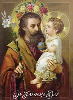 Catholic Prayers, Catholic Art, Catholic Saints, Religious Art, Roman Catholic, Religious Pictures, Jesus Pictures, St Joseph Prayer, Saint Joseph