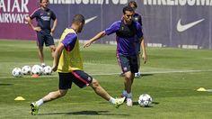Pedro | Entrenamiento 3/6/15 | FC Barcelona