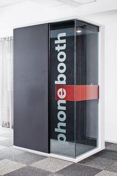 Telephone booth for open plan office HUSH by Toivola Pekka  Martela