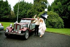 Wine Silver Beauford Wedding Car  #travel #transportation #destination #weddingcar #Dublin #limousine #limoservice #Ireland #Meath #Kildare #Wicklow #Louth #Cavan #Monaghan #Offaly #occasions #event #partybus