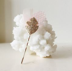 sweetheart glitter pin