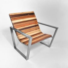 Slatted Wood Chair | west elm