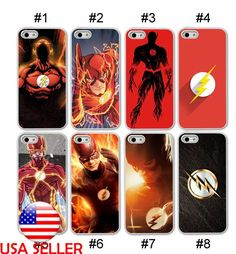The Flash Comic Hero IPhone X 6 7 8 Plus Phone TPU Soft Clear Black case Movie#1 | Cell Phones & Accessories, Cell Phone Accessories, Cases, Covers & Skins | eBay!