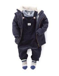 Children and Young Kid Closet, Boys Wear, Baby Boy Outfits, Boy Fashion, The North Face, Overalls, Winter Jackets, Cord, Children