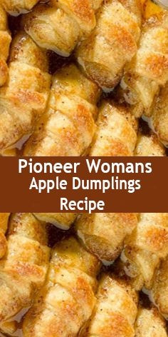 Womans Apple Dumplings Recipe It is so easy, it's illegal. ONLY 7 ingr. - Pioneer Womans Apple Dumplings Recipe It is so easy, it's illegal. ONLY 7 ingredients. ONLY 2 app -Pioneer Womans Apple Dumplings Recipe It is so easy, it's illegal. Pioneer Woman Apple Dumplings, Apple Dumpling Recipe, Easy Apple Dumplings, Peach Dumplings, Apple Dumplings With Mountain Dew Recipe, Dumplings Recipe Easy, Pioneer Woman Apple Pie, Sweet Potato Dumplings, Crescent Roll Recipes