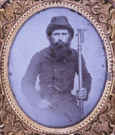 Private W. A. Pate, Company C, ( Alex Stephens' Guards) 8th Alabama Infantry, C.S.A