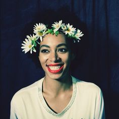 Put a flower in it! #solange