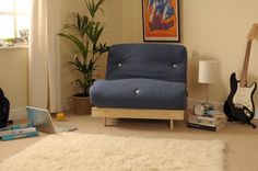 In seconds the futon goes from a comfortable 2 seater sofa to ft Small Double bed, and vice versa. This futon is ideal for any occasion, use a practical sofa, or a comfy bed. DOUBLE FUTON SET by CLOUD NINE. Mattress Frame, Sofa Bed Mattress, Futon Couch, Sofa Frame, Bed Settee, Couches, House Furniture Design, Home Decor Furniture, Interiors