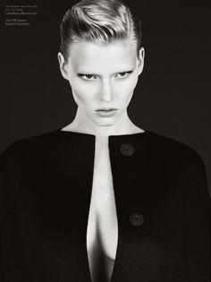 Calvin Klein Jeans Fall 2010 Campaign – Lara Stone by Mert & Marcus