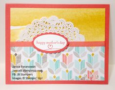 Happy Mother's Day by stampingdietitian - Cards and Paper Crafts at Splitcoaststampers