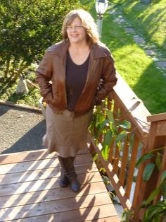 Vintage 1960's70's Leather Bomber Jacket by AlmostHomeMemories, $60.00