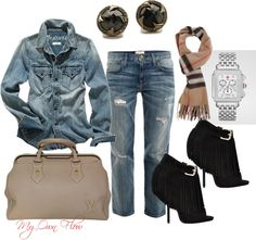 """""""LUNCH WITH FRIENDS"""" by myownflow on Polyvore"""