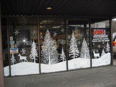 Christmas Window Painting Ideas | Christmas / Holiday More