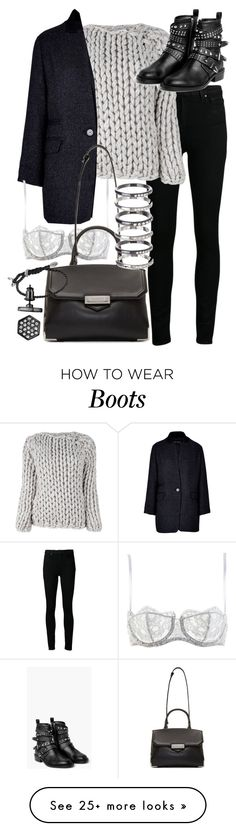 """Untitled #19135"" by florencia95 on Polyvore featuring Mode, Paige Denim, Maison Margiela, Tara Jarmon, MANGO, I.D. SARRIERI, Alexander Wang, David Yurman, M.N.G und Simply Vera"