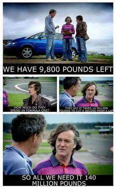 Haha! I love Top Gear! :D