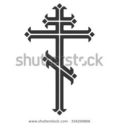 Find Ornamental Orthodox Cross stock images in HD and millions of other royalty-free stock photos, illustrations and vectors in the Shutterstock collection. Church Signs, Small Tattoos, Tatoos, Symbols, Ornaments, Christianity, Piercings, Wolf, Ink