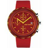 Issey Miyake Midsize SILAT003 Red Trapezoid: AL Collection Chronograph Watch Reviews - Issey Miyake Midsize SILAT003 Red Trapezoid: AL Collection Chronograph Watch    Analog-quartz movementMetal crystalCase diameter: 43 mmAluminum case; Red dial; dat