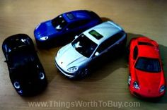 Collectible Porsche Toy Cars