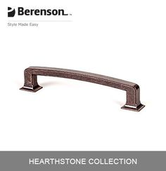 Berenson Cabinet Hardware Item No - CC Cabinet Handle/Pull in Weathered Verona Bronze  sc 1 st  Pinterest & Berenson Cabinet Hardware: Item No 9212-10VB-P Cabinet Pull in ...