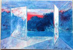 Pierre Garcia-Fons The door op art virtual by MarieArtCollection