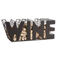 """WINE"" Cork Cage"