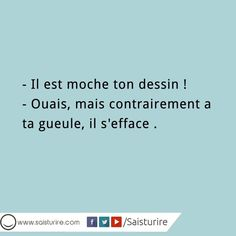 :) Rage, French Phrases, Cute Messages, Lol, Cogito Ergo Sum, Cute Quotes, Make Me Happy, Quotations, Funny Jokes