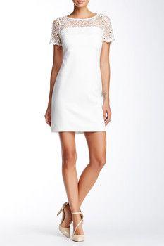 Jessica Simpson Lace Illusion Dress