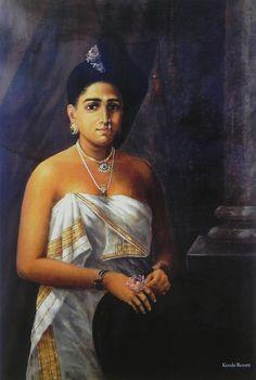Kerala Beauty (Reprint on Paper - Unframed))