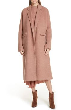 Looking for Vince Long Wool Alpaca Blend Coat ? Check out our picks for the Vince Long Wool Alpaca Blend Coat from the popular stores - all in one. Boucle Coat, Wool Coat, Nordstrom Coats, Coats For Women, Clothes For Women, Fashion Mode, Retro Outfits, Cashmere Sweaters, Autumn Winter Fashion