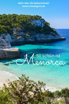 Menorca is often referred to as the Mallorca little sister. You can find out here why it is by no means in the shadow of Mallorca. Menorca - these tips will make your vacation perfect Urlaubsguru urlaubsguru Urlaub am Meer - Meine Lieblinge Menorca Honeymoon Night, All Inclusive Honeymoon, Honeymoon Cruise, Romantic Honeymoon, Menorca Beaches, Menorca Hotels, Europe Destinations, Honeymoon Destinations, Reisen In Europa