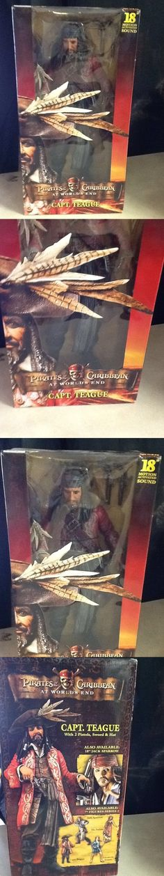 Pirates of the Caribbean 142334: Capt. Teague 18 Motion Actrivated Sound Collectible Figure New In Box -> BUY IT NOW ONLY: $50 on eBay!