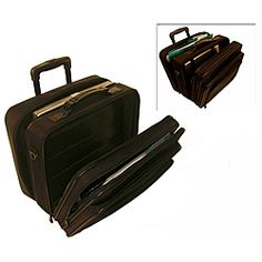 Shop for Stebco Black Rolling Laptop Business Case. Get free delivery On EVERYTHING* Overstock - Your Online Business Cases Shop! 17 Inch Laptop, Best Laptops, Luggage Bags, Laptop Sleeves, Black, Business, Shopping, Best Laptop Computers, Black People