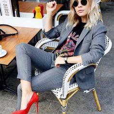 Inspirações para sair do óbvio nos seus looks de trabalho? Temos! Tá tudo lá no site, link na bio fashionbreak.com.br #OfficeLook