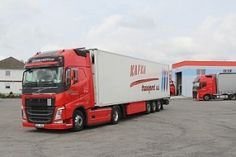 Vozový park Truck Paint, Volvo Trucks, Transportation, Park, Earn Money, Parks