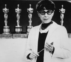Edith Head was one of the most acclaimed costume designers in cinema history. Born in 1897, she started working on costumes in the early days of talkies and worked on almost 500 movies before her death in 1981. #styleicon #modcloth
