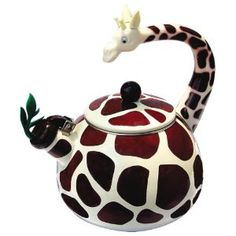 These fun, whimsical, unique animal teapots will add the touch of creativity in your kitchen that you've been longing for. Be different, be unique, be you! These also make wonderful gifts for birthdays, Christmas, Mother's Day and more.