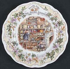 Royal Doulton BRAMBLY HEDGE The Store Stump Salad Plate 6300835