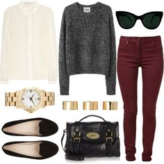 """""""Gold accent"""" by hanaglatison on Polyvore"""